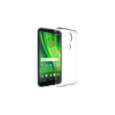 "Capa Case Tpu Motorola Moto G6 Play Xt1922-5 Transparente Tela 5,7"""
