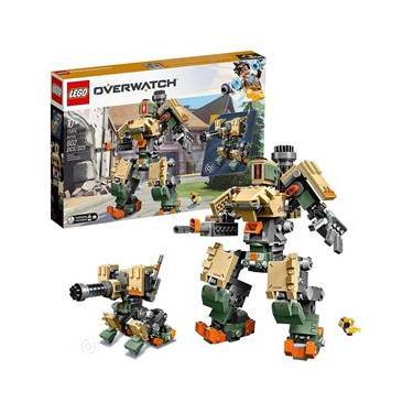 Blocos De Montar Lego Overwatch Bastion 602 Peças 75974