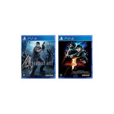 Resident Evil 4 + Resident Evil 5 - PS4