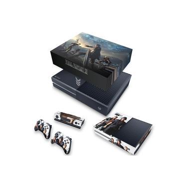 Capa Anti Poeira e Skin para Xbox One Fat - Final Fantasy Xv #B