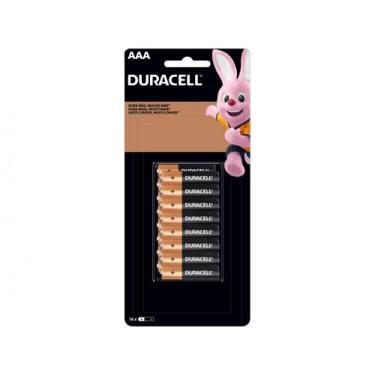 Pilha AAA 16 Unidades - Duracell