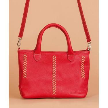 Bolsa Soulier Bolsa Maravilha Vermelho  feminino