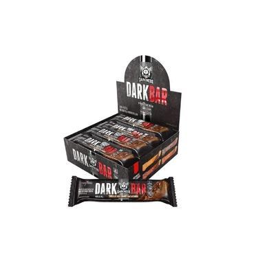 Barra Dark Bar Flocos Com Chocolate Display Com 8 Unidades