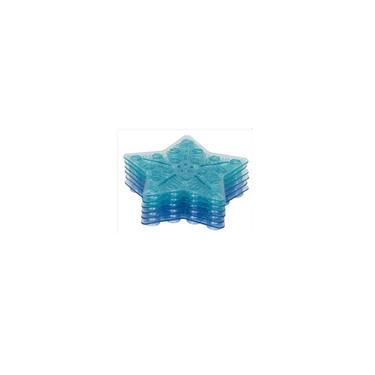 Imagem de Tapete de Banho Antiderrapante Mini c/ 6 Pecas Azul - KaBaby