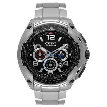 2124cf56415 Relógio Orient Flytech Cronógrafo Titânio Analógico Masculino MBTTC015 P2GX