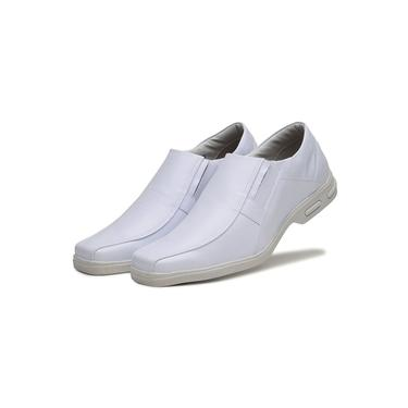 Imagem de Sapato Social Conforto Dhl Masculino Branco