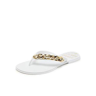 Rasteira feminina Petite Jolie branco - Pj3516