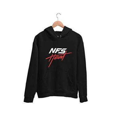 Blusa Moletom Casaco Need for Speed Heat NFS Unissex Preto