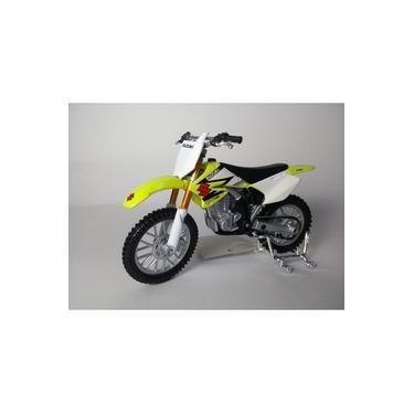 Imagem de Miniatura Moto Motocross Suzuki RM-Z250 Escala 1:18!