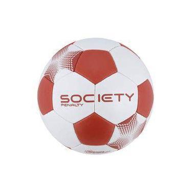 4377537c51 Bola Penalty Player VII Society Branca e Vermelha