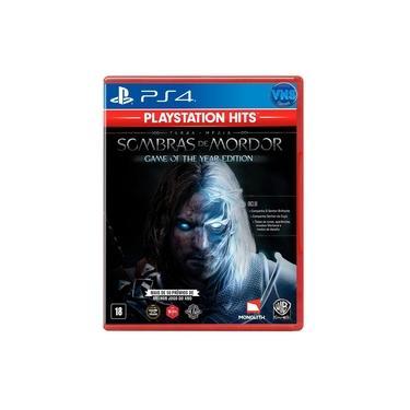 Terra-Média : Sombras de Mordor GOTY BR - PS4