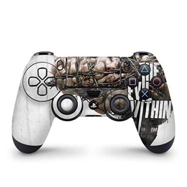 Skin Adesivo para PS4 Controle - The Evil Within