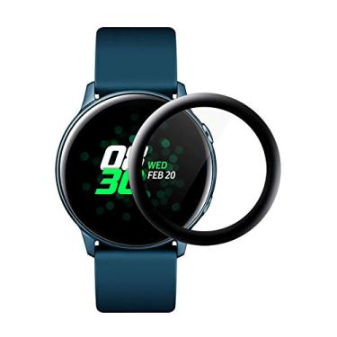 Película de Vidro 3D para Samsung Galaxy Watch Active 2 44mm SM-R825 e SM-R820 - Marca Ltimports