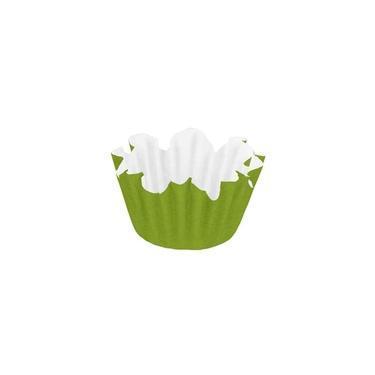 Forma Papel Número 6 Flor Verde Limão Com 100 Unidades Regina