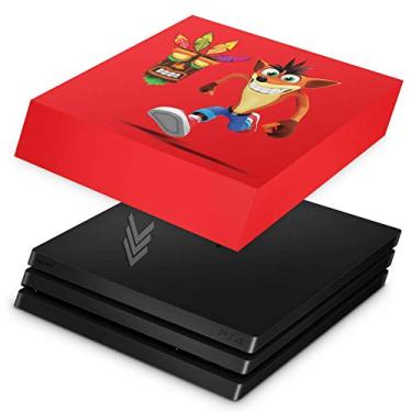 Capa Anti Poeira para PS4 Pro - Crash Bandicoot