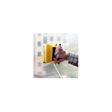 Limpa Vidros Magnético Rodo Mágico Dupla Face Super Ímã - Doublefaced Glass Clean