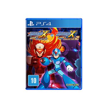 Game Mega Man X Legacy Collection 1+2 - PS4