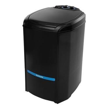 Imagem de Máquina De Lavar Semi-automática Suggar Lavamax Eco - 16kg Preta 127v
