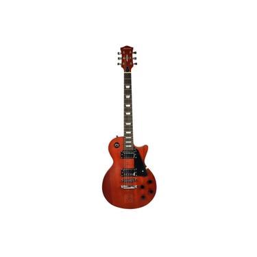 Imagem de Guitarra Les Paul Strinberg LPS260 MGS Mahogany Sólido Satin Fosca Com Escudo Preto e 2 Humbucker