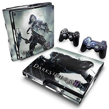 Skin Adesivo para PS3 Slim - Darksiders 2