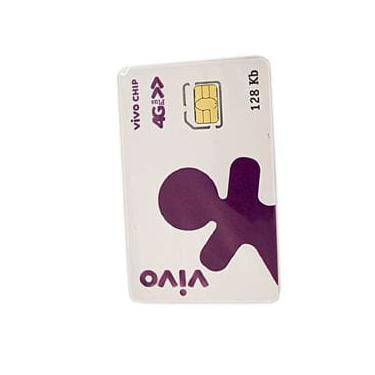 Chip vivo sim card avulso tripo pre ativo 4g - ygsc035w10