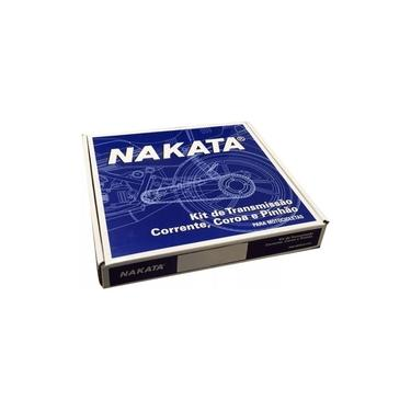 Kit Relação Fan 125 2009 a 2018 Nakata Coroa Pinhão Corrent
