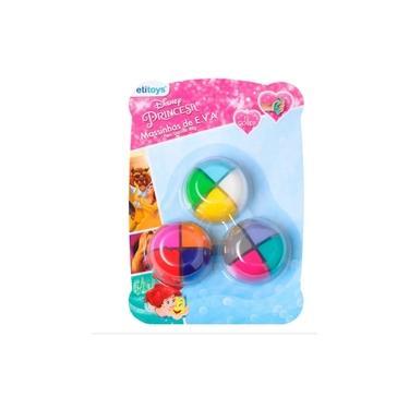 Imagem de Massinha Eva Princesas Kit Com 3