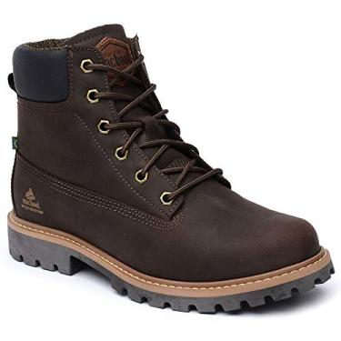 Macboot Bota Militar Coturno Roraima 10 Unissex Marrom (Cafe), 43