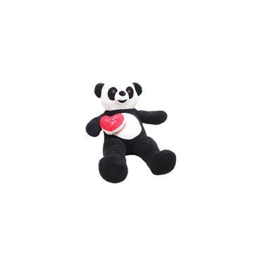 Imagem de Urso Panda 110cm Pelucia com Coração - Casa dos Ursos