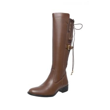 Bota Mega Boots Montaria Caramelo  feminino