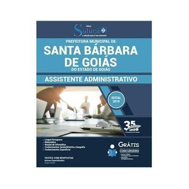 Imagem de Apostila Santa Bárbara De Goiás - Assistente Administrativo