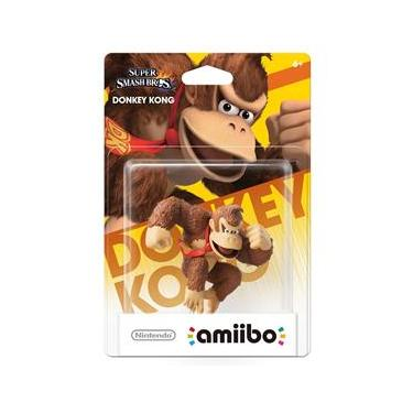 Boneco Nintendo Amiibo: Donkey Kong - Wii U
