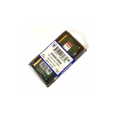 Memoria Notebook 8GB DDR4 2666 Mhz Kingston Kvr26s19s8/8