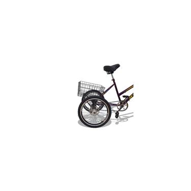 Bicicleta Triciclo Deluxe Wendy Aro 26 Completo Violeta