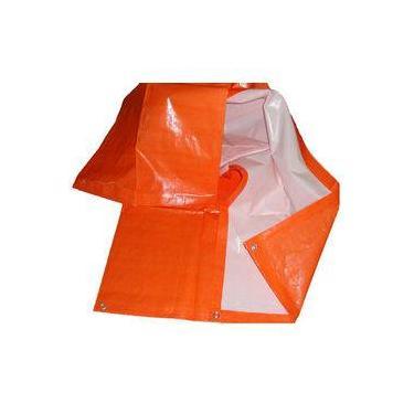 Lona leve plástica 6 x 5 impermeável carreteiro 150 micras
