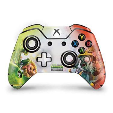 Skin Adesivo para Xbox One Fat Controle - Plants Vs Zombies Garden Warfare