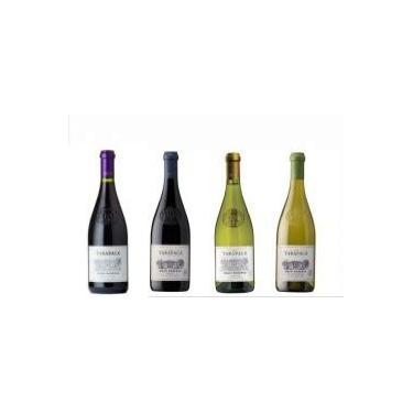 Vinho Tarapacá Gran Reserva Sauvignon Blanc, Chardonnay, Merlot e Pinot Noir 750 ml C/ 4 Unidades
