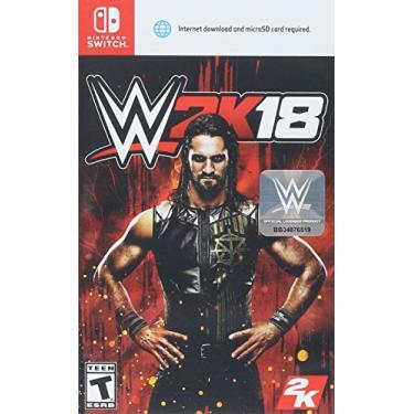 JOGO WWE 2K18 NINTENDO SWITCH.