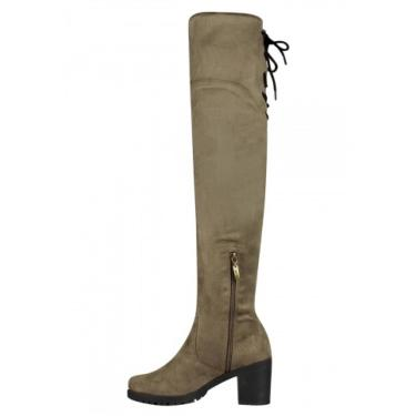 Bota Barth Shoes Dora Caqui  feminino