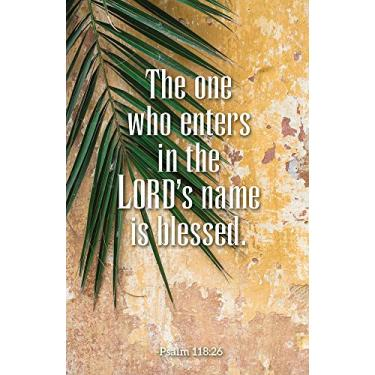 The One Who Enters Palm Sunday Bulletin (Pkg of 50)