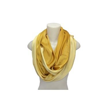 Lenço Feminino / Echarpe Véu Dourado