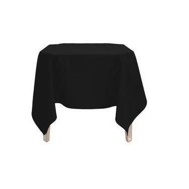 Imagem de Toalha de mesa quadrada oxford para festa buffet branca