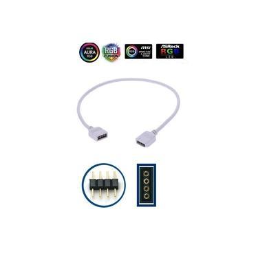 Hub RGB Placa Mãe 12V Aura Sync Gygabyte Fusion Asrock Msi