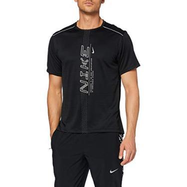 Camiseta Nike Dry Miler SS Preto