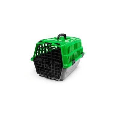 Caixa De Transporte Love Travel Pet Injet Verde Pequeno