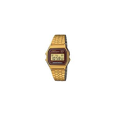 f512178f1e1 Relógio Feminino Casio Digital Vintage A159WGEA-5DF