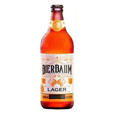 Cerveja Lager Bierbaum   Garrafa 600ml