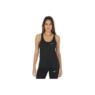 Camiseta Regata Nike Breathe Rapid Run - Feminina - PRETO Nike d80c525b81a58