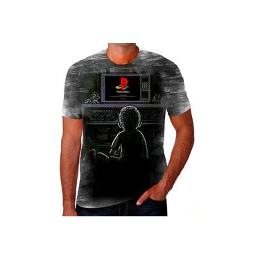Camiseta Camisa Game Controle X Box Playstation Ps4 Ps2 Hd
