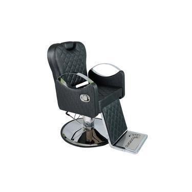 Imagem de Poltrona Cadeira De Cabeleireiro Barbeiro Reclinável Urano, Barbearia - VARIAS CORES